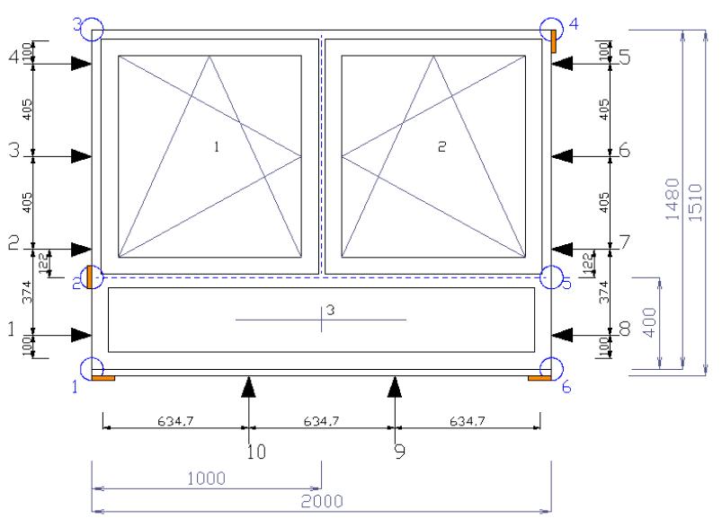 Architekt Planner Fensterbefestigung